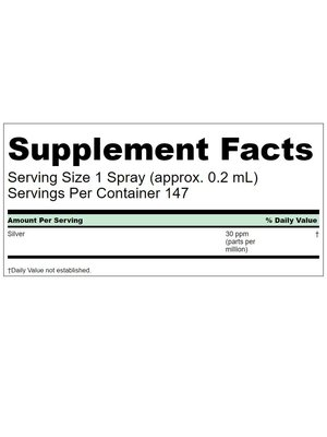 Source Naturals Colloidal Silver Throat Spray 30ppm, 1oz.
