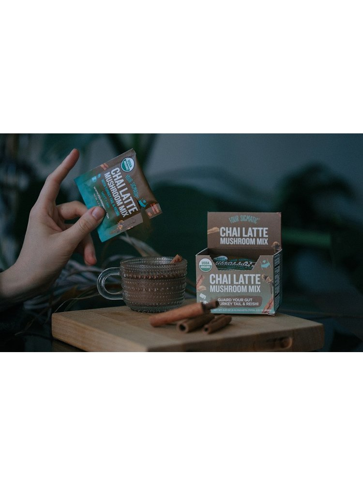 FOUR SIGMATIC Four Sig Mush Chai Latte, Reishi, CHILL, Single