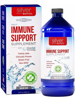 Silver Biotics Silver Biotics Immune Enhancing Supplement, 32oz.