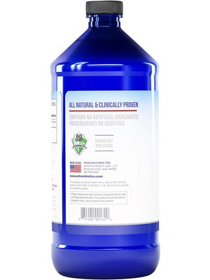 Silver Biotics Silver Biotics Immune Enhancing Supplement, 32oz.