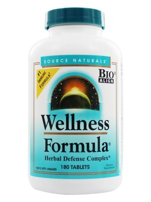Source Naturals Wellness Formula, 180t