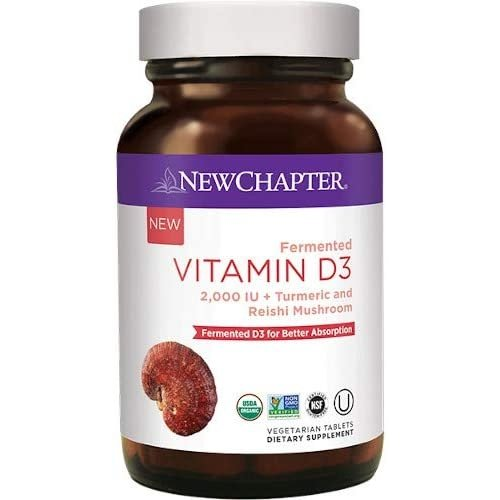 NEW CHAPTER New Chapter Fermented Vitamin D3, 30t