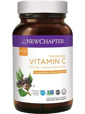 NEW CHAPTER New Chapter Fermented Vitamin C, 30t- DISCO