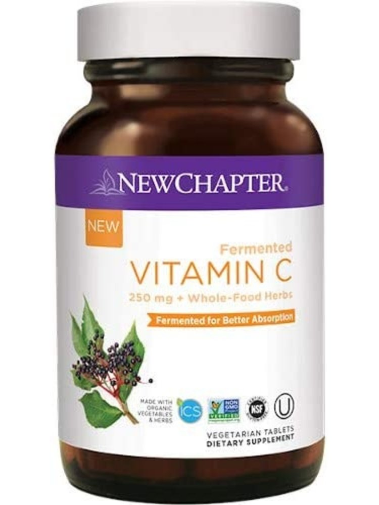 NEW CHAPTER New Chapter Fermented Vitamin C, 30t