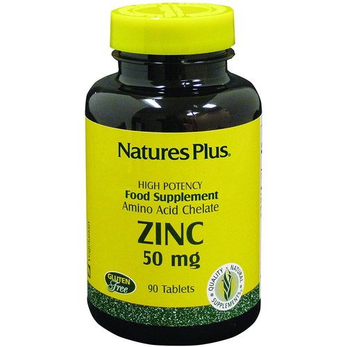 NATURE'S PLUS Nature's Plus Zinc 50mg, 90t