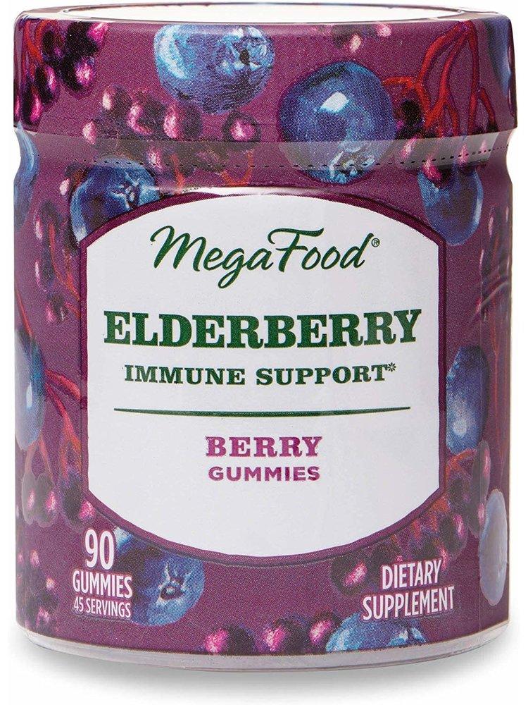 MegaFood Megafood Elderberry Immune Support Gummies, Berry,  90ct