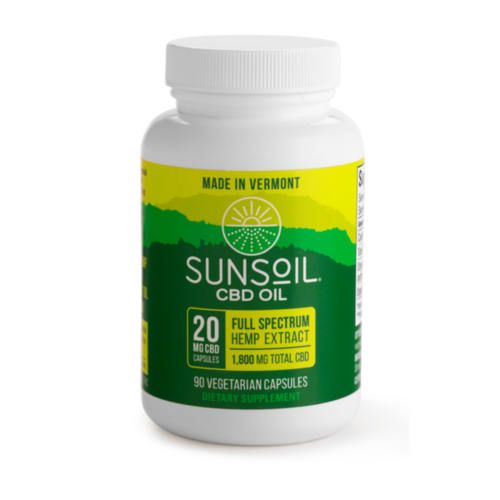 SUNSOIL SunSoil Softgels 20mg, 90ct