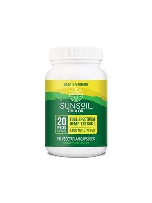 SUNSOIL SunSoil Softgels 20mg, 90ct