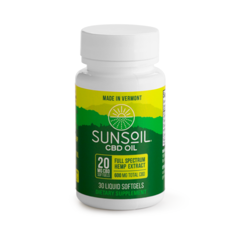 SUNSOIL SunSoil Softgels 20mg, 30ct