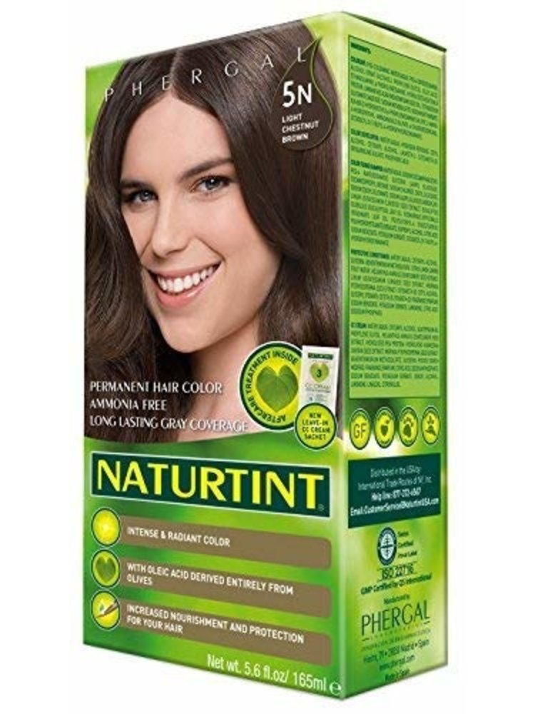 Naturtint Naturtint Hair Color, 5N Chestnut Brown Lite, 5.6oz.
