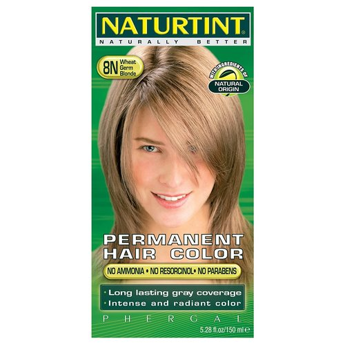 Naturtint Naturtint Hair Color, 8N Blonde Wheat Germ, 5.6oz.