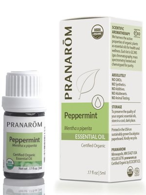 PRANAROM Pranarom Organic Peppermint Essential Oil, 5ml