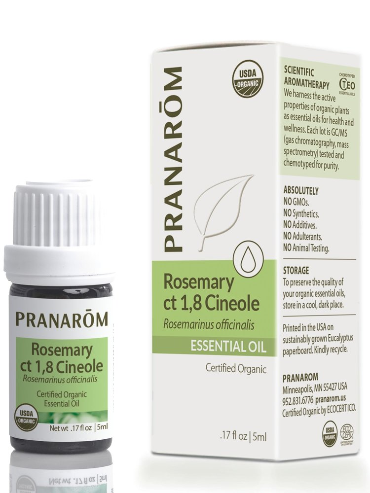 PRANAROM Pranarom Organic Rosemary ct 1, 8 cineole Oil, 5ml