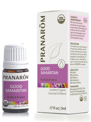 PRANAROM Pranarom Organic Good Samaritan Essential Oil Blend, 5ml