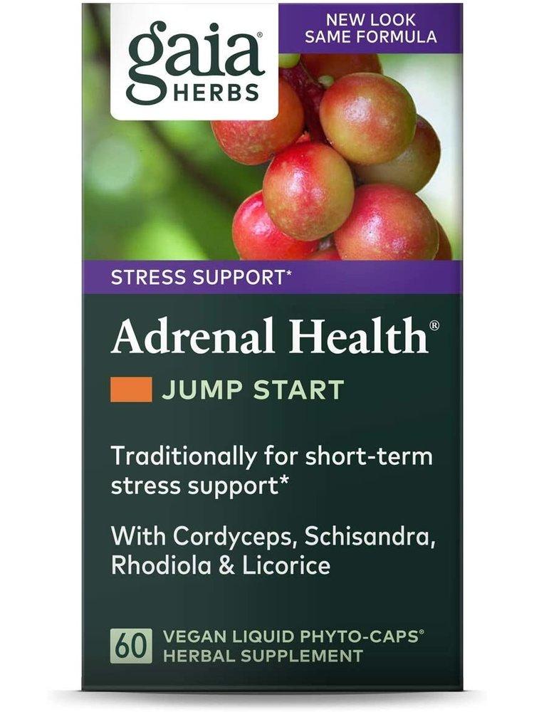GAIA HERBS Gaia Adrenal Health Jump Start, 60cp