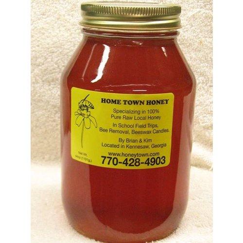 Hometown Honey Hometown Honey, Glass Quart Jar, 44oz.