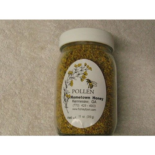 Hometown Honey Hometown Honey Bee Pollen Pint Jar, 10oz.