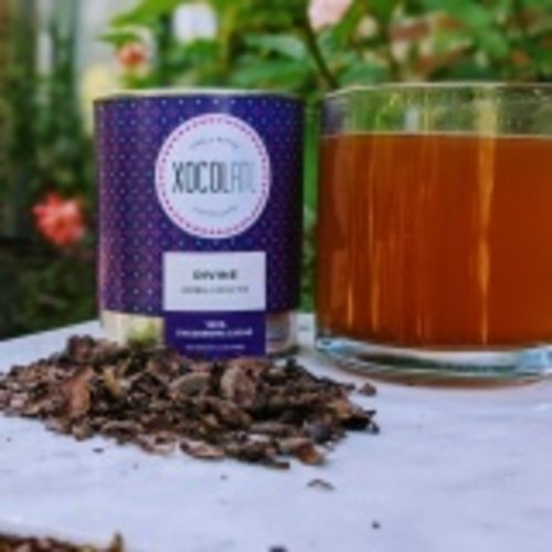 Xocolatl Xocolatl Herbal Cacao Tea, Divine, 3.5oz.