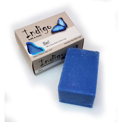 INDIGO BATH & BODY Indigo Silk & Shea Butter Soap, Be!
