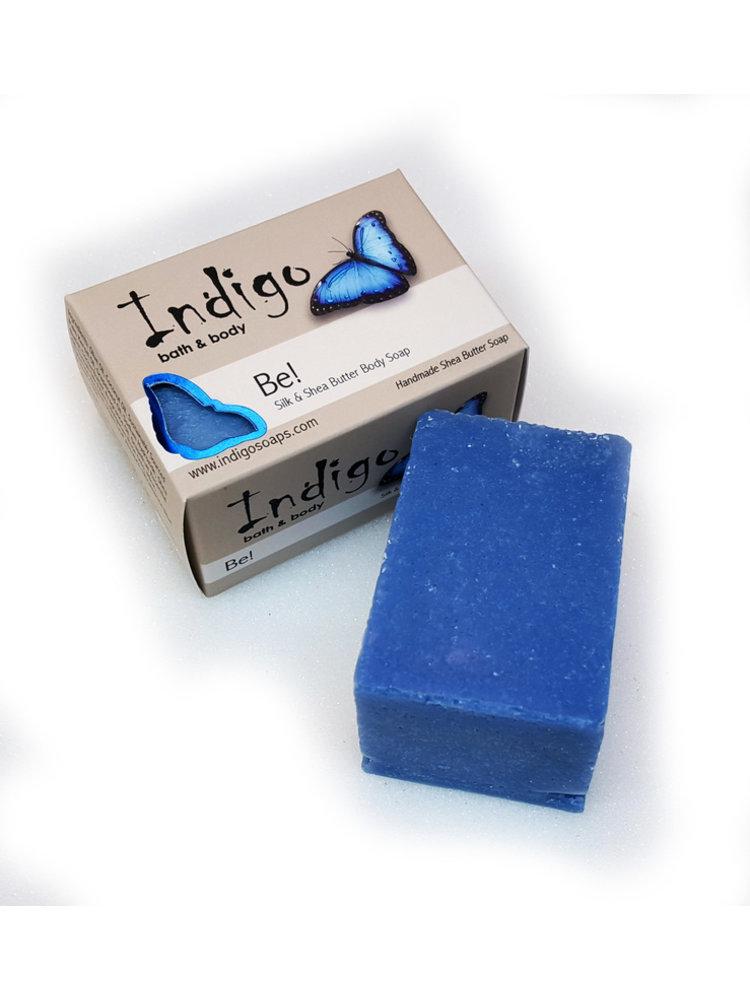 INDIGO BATH & BODY Indigo Silk & Shea Butter Soap, Be!