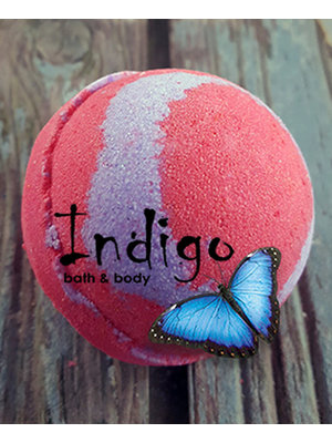Indigo Fizzy Bath Bomb, Shut Up & Kiss Me, 4.5oz.
