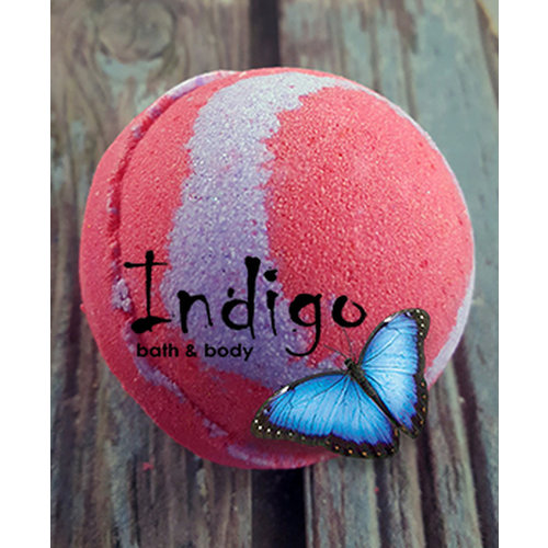 Indigo Bath Bomb, Shut Up & Kiss Me, 4.5oz.