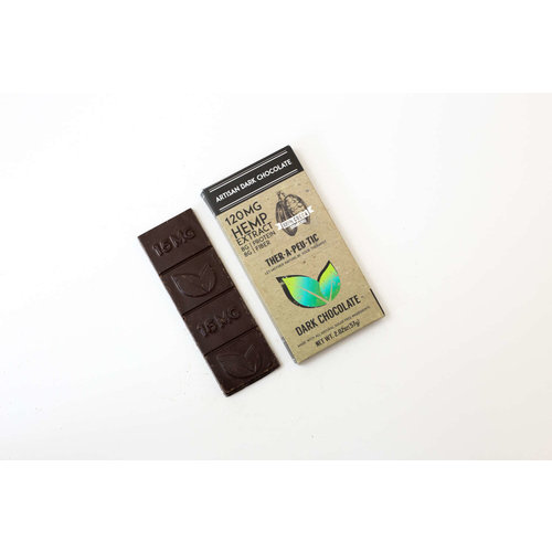 THERAPEUTIC TREATS Therapeutic Treats 100% Dark Chocolate, 120mg, 2oz.