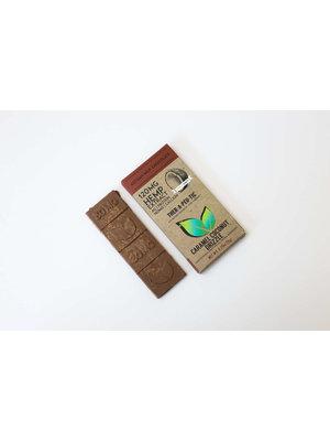 THERAPEUTIC TREATS Therapeutic Treats Caramel Coconut Milk Chocolate, 120mg, 2oz.