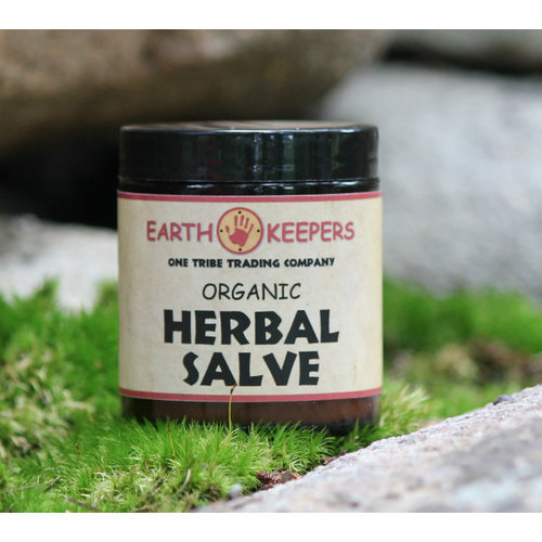 EARTH KEEPERS Earth Keepers Organic Herbal Salve, 4oz.