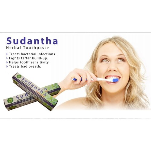 NATURAL LIVING Natural Living Sudantha Herbal Toothpaste, 80g