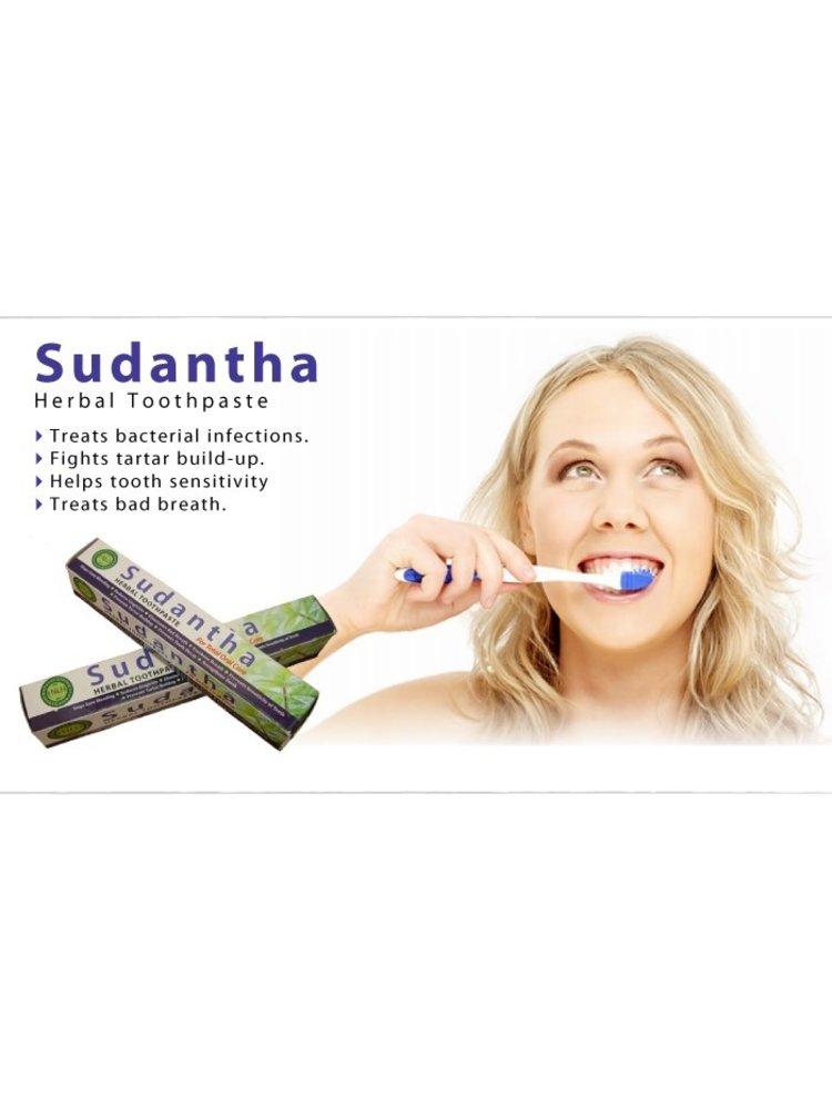 NATURAL LIVING Natural Living Sudantha Herbal Toothpaste, 80g
