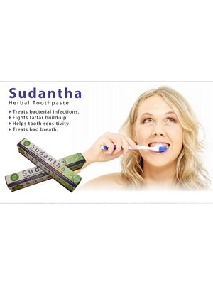 NATURAL LIVING Natural Living Sudantha Herbal Toothpaste, 45g