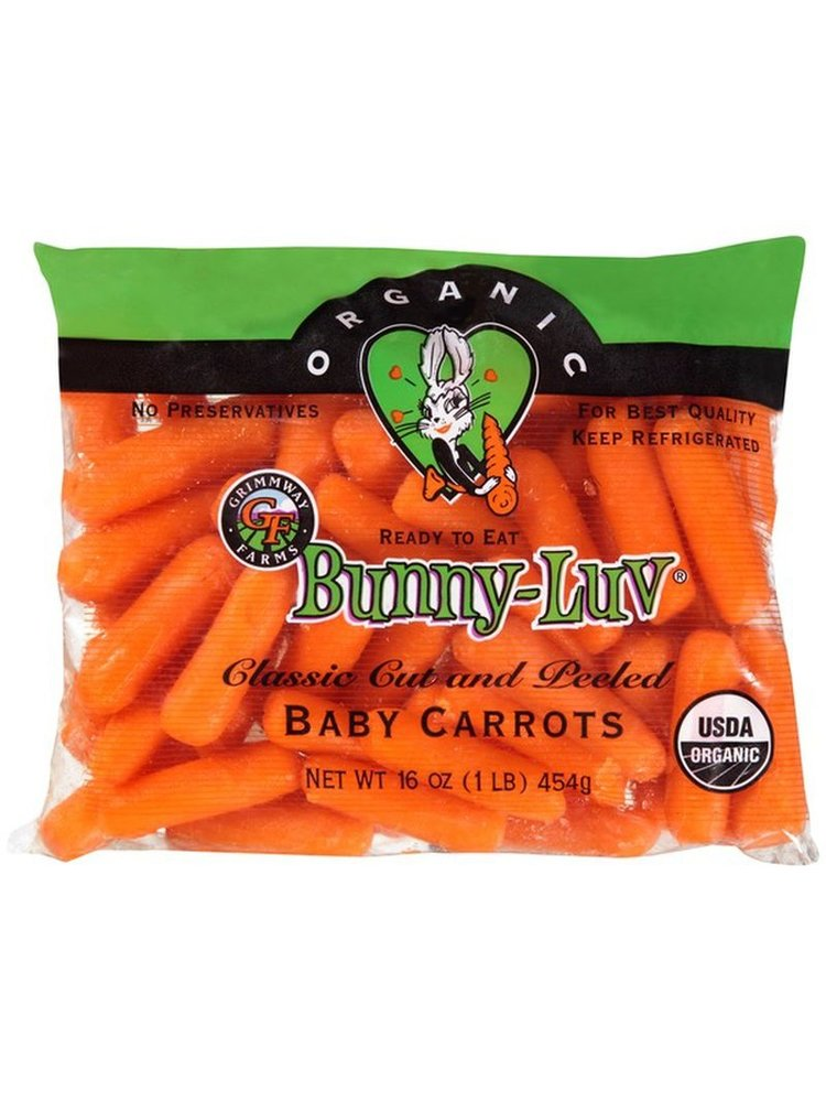 Fresh Point Organics Carrots, Bunny-Luv Baby, Organic, 16oz.