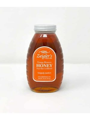 Zeigler Zeigler Orange Blossom Honey, 16oz.