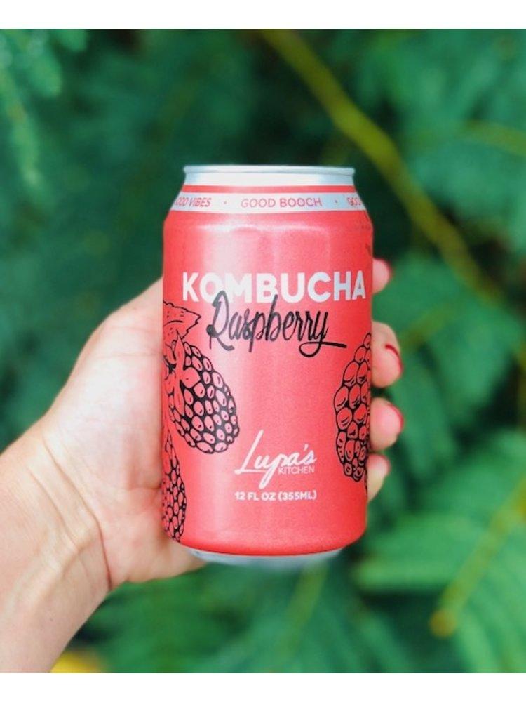 LUPA'S KITCHEN Lupa's Kitchen Raspberry Delight Kombucha, 12oz.