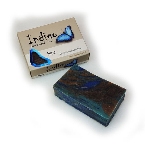 INDIGO BATH & BODY Indigo Body Soap, Blue
