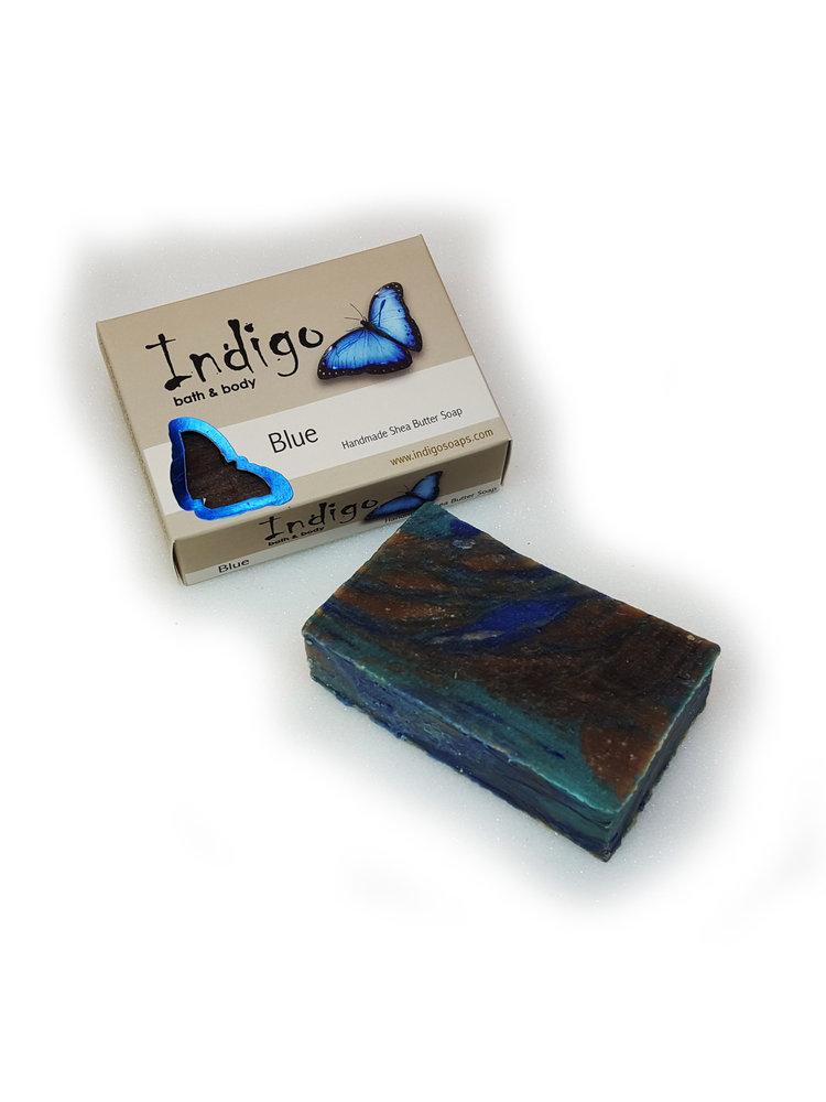 INDIGO BATH & BODY Indigo Body Soap, Blue