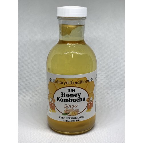 CULTURED TRADITIONS Cultured Traditions Jun w/Ginger, 12oz.