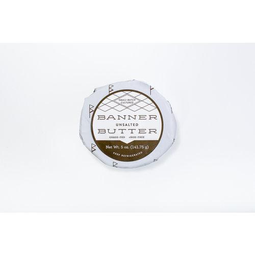 BANNER BUTTER Banner Butter -Unsalted 5oz