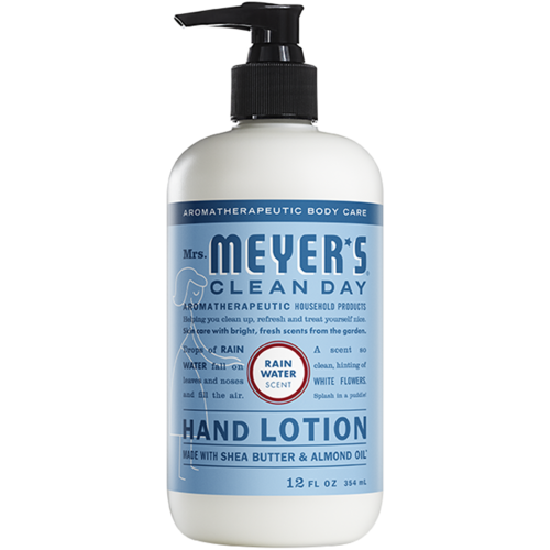 Mrs. Meyer's Clean Day Meyers Clean Day Hand Lotion, Rainwater, 12oz.