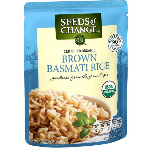 Seeds of Change Seeds of Change Brown Basmati Rice, Organic, 8.5oz