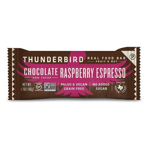 Thunderbird Thunderbird Energetica, Chocolate Raspberry Espresso Bar, 1.7oz