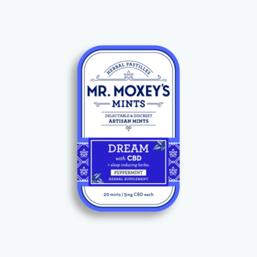 MR. MOXEY'S Mr. Moxey's Mints Dream, Peppermint 5mg, 20ct