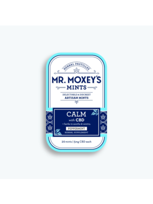 MR. MOXEY'S Mr. Moxey's Mints Calm, Peppermint 5mg, 20ct