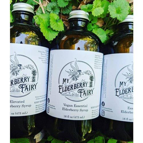 My Elderberry Fairy My Elderberry Fairy Vegan Essential Elderberry Syrup 16oz