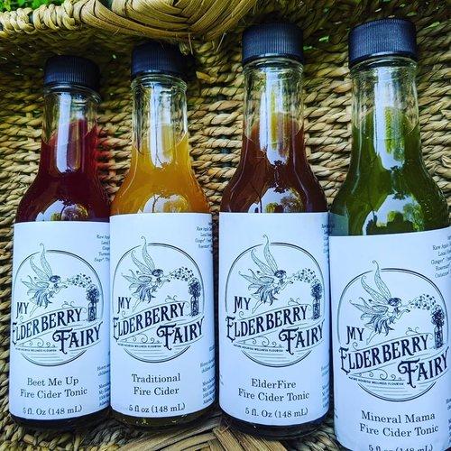 My Elderberry Fairy My Elderberry Fairy Fire Cider Immune Tonic ElderFire