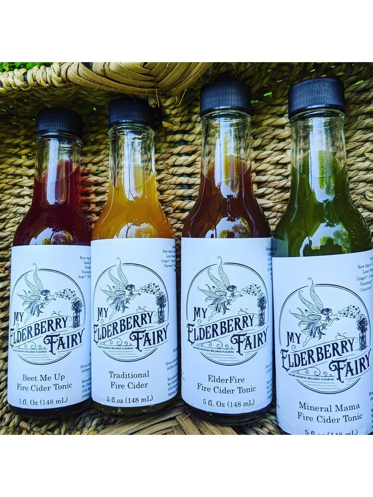 My Elderberry Fairy My Elderberry Fairy Fire Cider Immune Tonic ElderFire