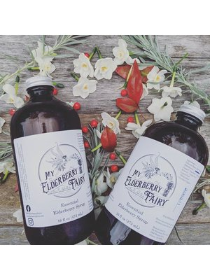 My Elderberry Fairy My Elderberry Fairy Essential Elderberry Syrup, 16oz.