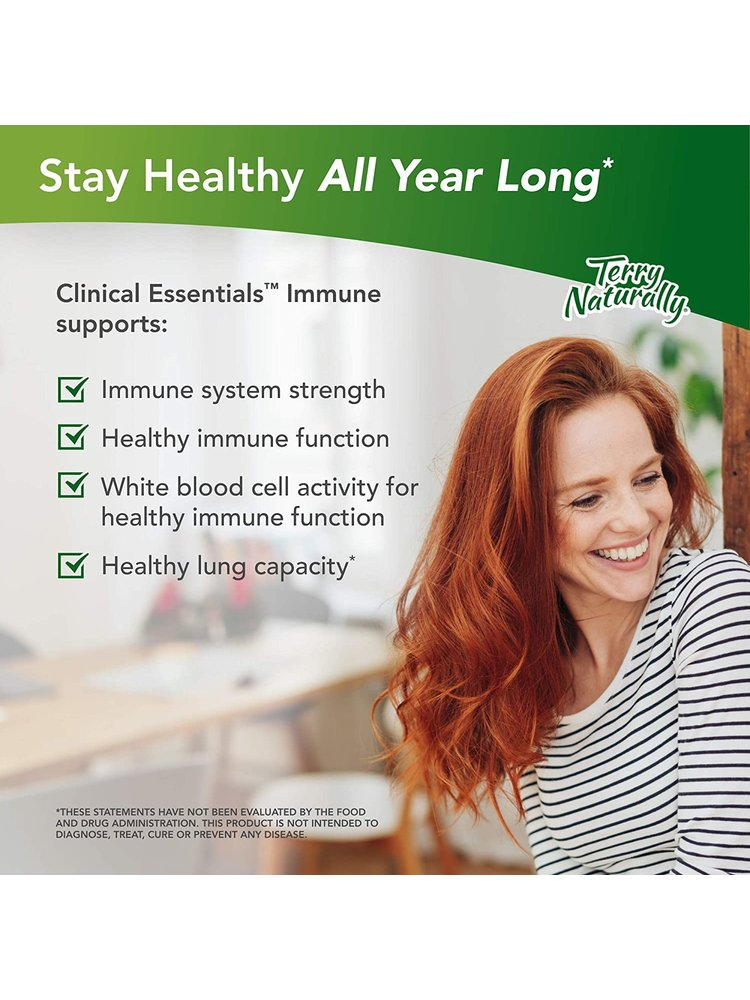TERRY NATURALLY Terry Naturally Clinical Essentials Immune, 60cp