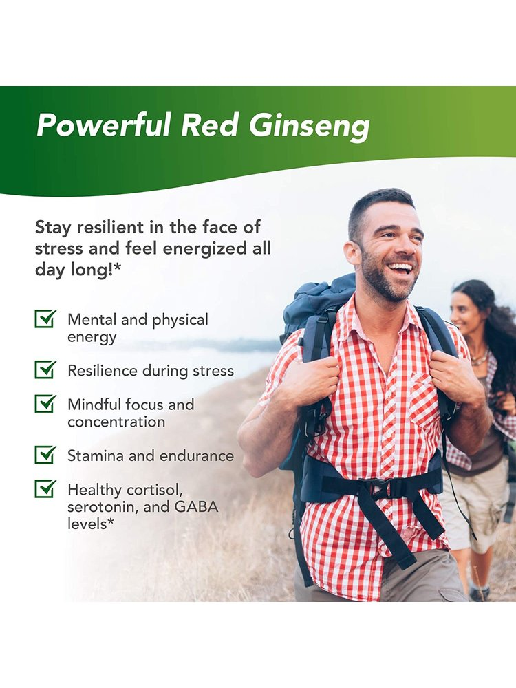 TERRY NATURALLY Terry Naturally Red Ginseng Energy, 30cp